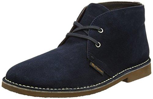 Ben Sherman Herren Hunt Chukka Boots, Blau (Marineblau), 42 EU (Herren Schuhe Sherman Ben)
