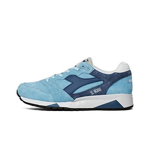 Sneaker Diadora Diadora - S8000 Italia - 170533C6582 - El Color: Azul Marino-Azul - Talla: 44.5