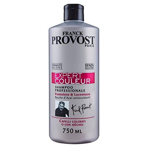 Franck Provost Expert Couleur Shampoo Professionale per Capelli Colorati o con Meches 750 ml
