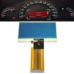 AUDEW LCD VDO Écran de Tableau de Bord pour MERCEDES W203 C230 C240 Auto Voiture Moniteur