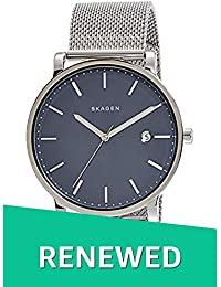 (Renewed) Skagen Hagen Analog Blue Dial Mens Watch - SKW6327#CR