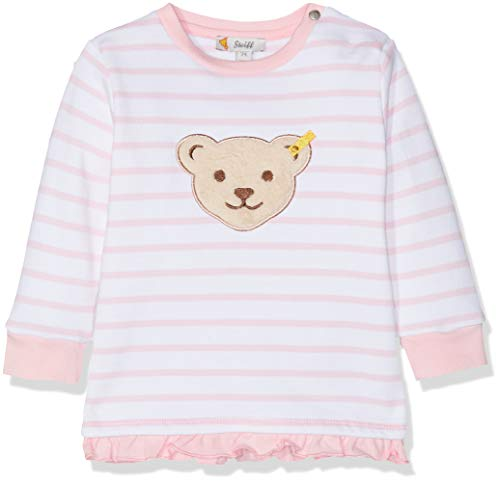 Steiff Baby-Mädchen Sweatshirt, Rosa (Orchid Pink 3006), 80