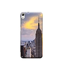 Ebby Premium 3d Desinger Printed Back Case Cover For HTC 826 (Premium Desinger Case)
