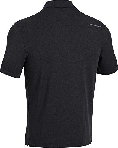 Under Armour Herren Poloshirt Performance Black, #, Steel