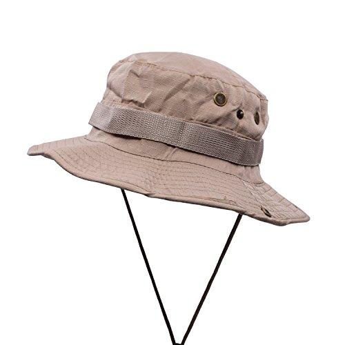 paciffico-mens-outdoor-fishing-hiking-sun-hats-cap-soild-color-boonie-hat-khaki-wide-brim-military-h