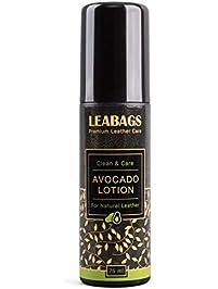 LEABAGS Avocado Premium Loción cuidado de piel no tóxico Natural limpiador – 75 ml