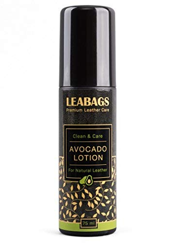Leabags avocado Premium lozione naturale non tossico Leather Care Cleaner – 75 ml