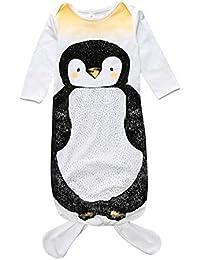 Dorapocket Neugeborene Schlafsack Kleid Nachthemd Baby Säuglingsverpackungs Swaddle Decke