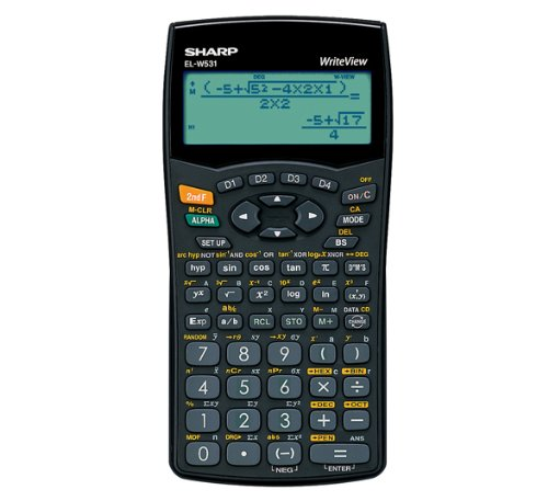 sharp-writeview-calculator-scientific-battery-power-4-line-335-functions-2-key-rollover-ref-elw531b