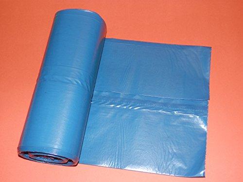 10pezzi–Sacchi/Sacchetti Di Immondizia 70x 110cm–Extra Resistente agli strappi–Impermeabile–per rettangolare e rotonda Bidoni della spazzatura