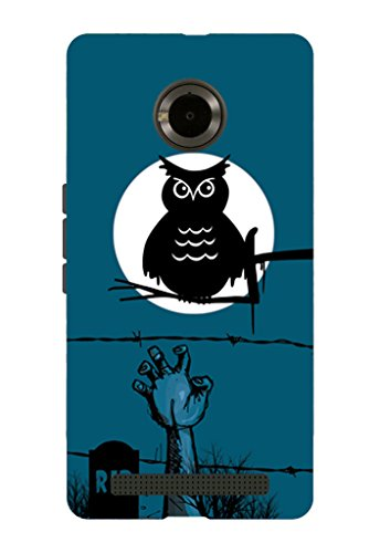 Kaira brand Designer Back Case Cover for Micromax YU Yuphoria (Halloween)