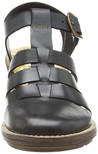 FLY London Celos511fly, Sandales ouvertes femme Gris - Grau (ANTHRACITE 000)