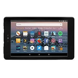 Nupro Stoßfeste Hülle für Fire HD 8-Tablet, Schwarz