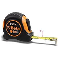 Beta 1692/5 metro a nastro shock-resistant bi-material ABS Casing, lunghezza 5 m