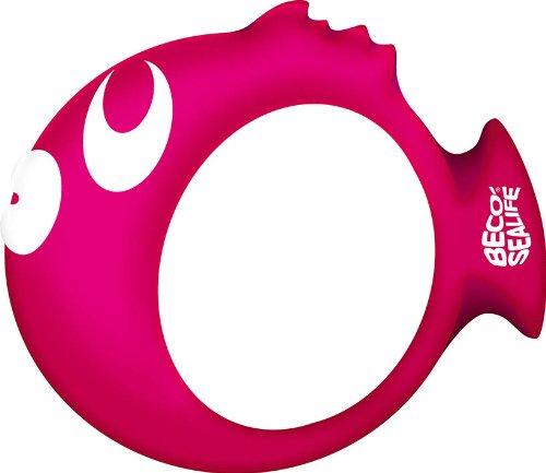 BECO Tauchring Sealife Tauchen Ring Aqua Zubehör Wasser Fitness pink