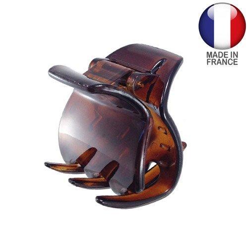 Righe e Pois 748–003 – Pince pour cheveux française 3 cm couleur tortue – Pinces pour cheveux