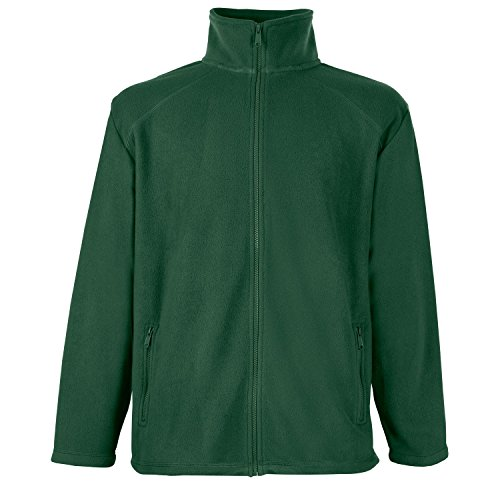 F800 Fleece Jacke Fleecejacke bottle green