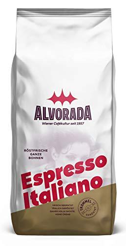 Alvorada Espresso Italiano | Röstfrische Ganze Bohne | Aroma-Softpack | 1000g