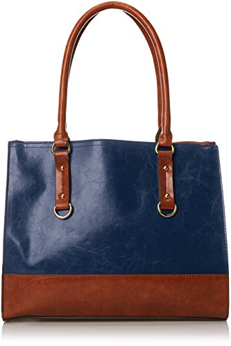emilie-m-kiley-two-tone-tote-women-blue-tote
