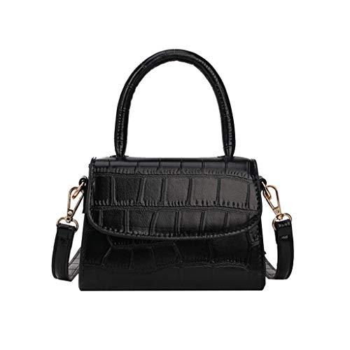 Mitlfuny handbemalte Ledertasche, Schultertasche, Geschenk, Handgefertigte Tasche,Frauen Retro Pure Color Vintage Lederhandtasche Messenger Einfache Umhängetasche