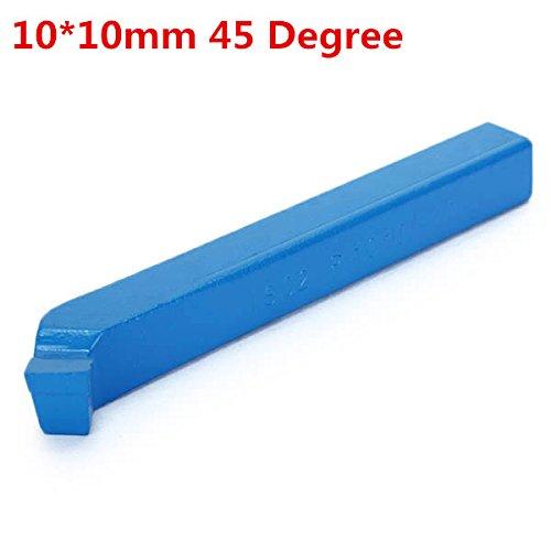 EsportsMJJ 10 * 10mm 45 Grad Yt5 Hartmetall-Drehmaschine Schneidwerkzeug Externes Drehwerkzeug