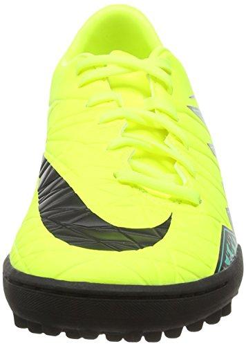 Nike Herren Hypervenom Phelon II TF Fußballschuhe Gelb (Volt/black-hyper turq-clear jade)