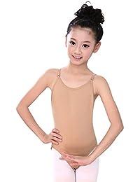Doubleer Enfants Camisole Sans Couture Gymnastique Justaucorps Filles De  Danse Ballet Vêtements 24e8cb43fca5