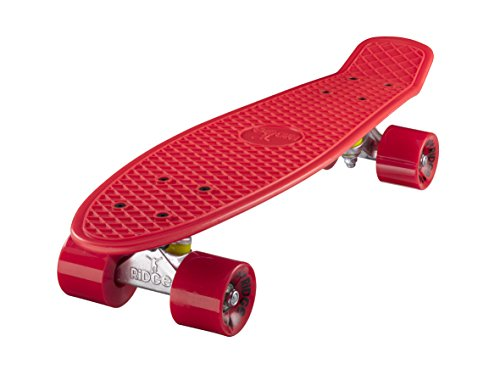 Ridge Skateboards Mini Cruiser Board Skateboard ,komplett, 55cm