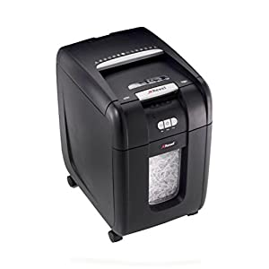 Rexel Auto+ 175X Cross Cut Paper / CD / Credit Card Shredder with 175 Sheet Capacity and Jam Clearance