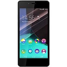 """Wiko Highway Pure - Smartphone libre de 4.8"""" (2 GB de RAM, cámara de 8 MP, 16 GB de memoria interna), color negro y oro"""