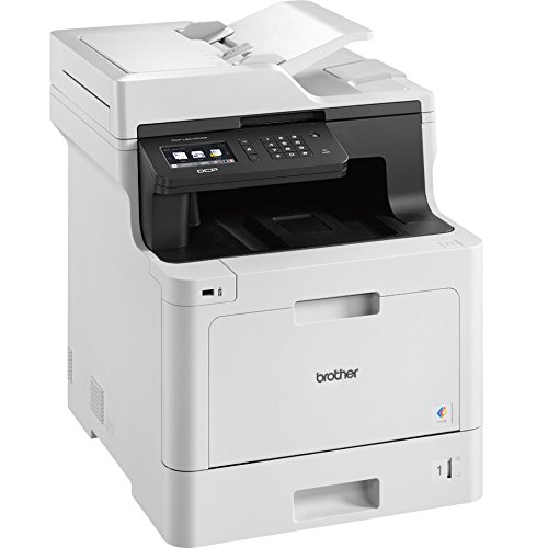 Cheapest Price for Brother DCP-L8410CDW Three-in-One Professional Wireless Colour Laser Printer on Amazon