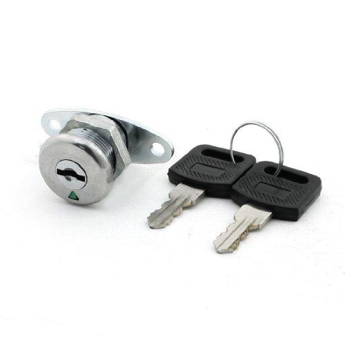 Home Wandschrank Schrank 17mm Gewinde Vierteldrehung Cam Lock w 2Schlüssel