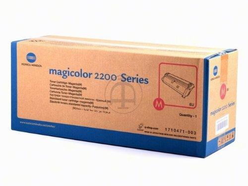 Preisvergleich Produktbild Konica Minolta 4145603 magicolor 2200 series Tonerkartusche 6.000 Seiten, magenta
