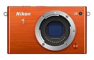 Nikon 1 J4 Systemkamera (18 Megapixel, 7,5 cm (3 Zoll) LCD-Display, Full HD Videofunktion) Kit inkl. 10-30mm PD-Zoom Objektiv orange