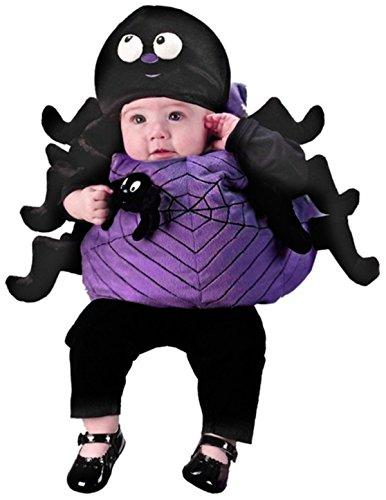 Spinne Charlotte Halloween Kostüm Karneval Fasching Verkleidung (Kleinkind Spinne Kostüme Kleine)