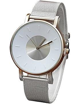 Quarz-Armbanduhr,Männer und Frauen Uhren Weant Dame Uhr Herren Uhr Klassisch Armbanduhr Quarz Uhren Legierung...