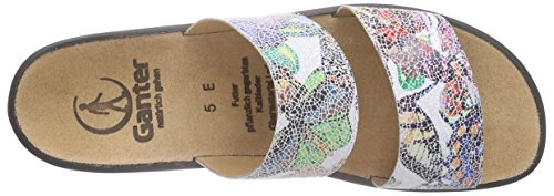 Ganter - Sonnica, Weite E, Ciabatte Donna Multicolore (Mehrfarbig (multi 9900))