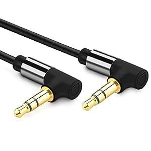 ugreen aux kabel 3m stereo audio klinken kabel 90 grad. Black Bedroom Furniture Sets. Home Design Ideas