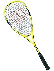 Wilson Ripper Team 1/2 Cvr - Raqueta de squash, color amarillo / negro, talla única