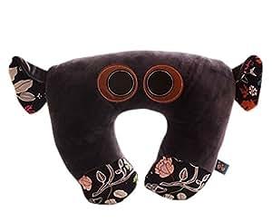 Cartoon oreiller oreiller de voyage/avion Oreiller en forme de U/Violet/Bleu/motif éléphant
