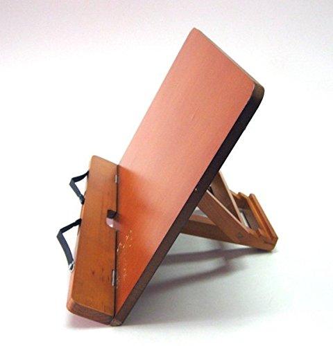 Professional Bookrest Buchständer Leseständer: Buchständer aus Holz (Auflagefläche 34 x 22,5 x 4...