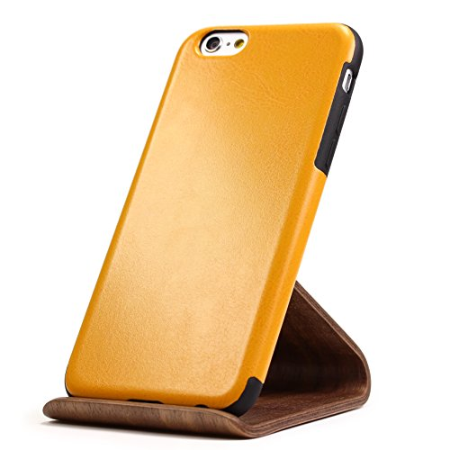 Apple iPhone 6 Plus / 6s Plus Handyhülle von original Urcover® in der Elegance Edition iPhone 6 / 6s Schutzhülle Case Cover Etui Basckcase Rosa Orange