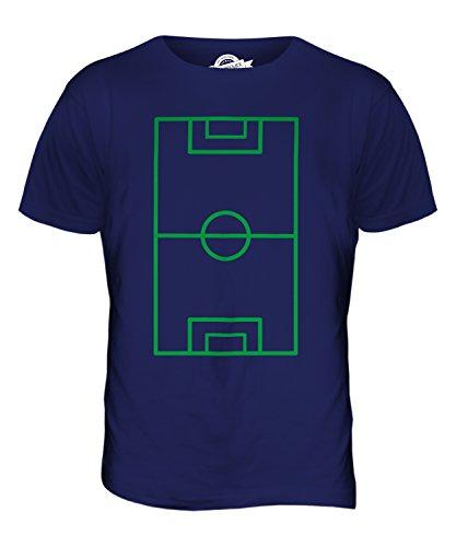 CandyMix Fußballplatz Herren T Shirt Navy Blau