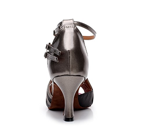 Minitoo ,  Damen Jazz, modern Grey-7.5cm Heel