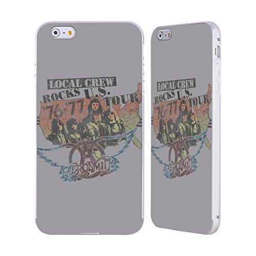 Ufficiale Aerosmith Loud Proud Arte Da Poster 3 Argento Cover Contorno con Bumper in Alluminio per Apple iPhone 6 Plus / 6s Plus Local Crew Rocks