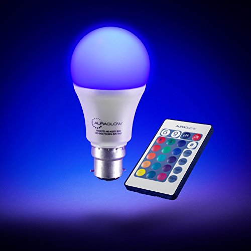 auraglow-7w-remote-control-colour-changing-led-light-bulb-b22-60w-eqv-warm-white-dimmable-version-3r