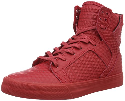 Supra Skytop, Baskets Basses Homme Rouge - Rot (RED - RED 600)