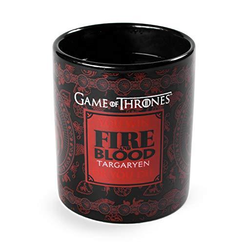 Game of Thrones SCMG24715 Mug, Noir/Rouge