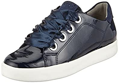 Marco Tozzi Damen 23763 Sneaker, Navy Blau, 42 EU