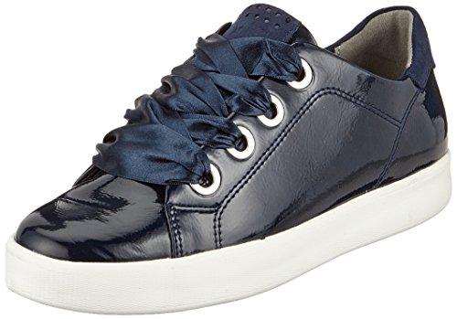 Marco Tozzi Damen 23763 Sneaker, navy blau, 38 EU